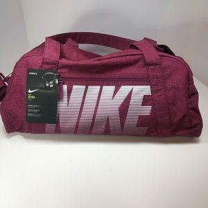 Nike Bags - Nike gym club training duffel bag rush pink 5f5b8bb531288